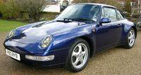 Blue Porsche Carrera 2 (993) fl