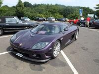 Purple Koenigsegg CCX fl
