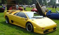 Lamborghini Diablo SV coupe