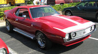 1971 AMC Javelin AMX red MD frontright