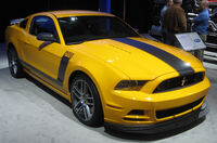 Ford Mustang Boss 302 -- 2012 DC