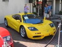 Yellow McLaren F1