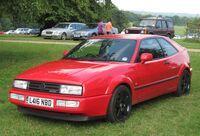 Volkswagen Corrado VR6 2861cc registered November 1993