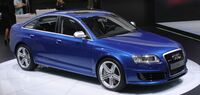 Audi RS6 sedan typ4F world premiere front
