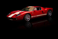Ford GT Red