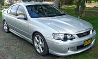 2004-2005 Ford BA II Falcon XR8 sedan 01