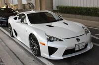 Production Lexus LFA White Yoko