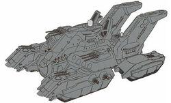 Compton class land battleship