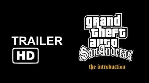 """GTA San Andreas """"The Introduction"""" Official Trailer HD CC"""