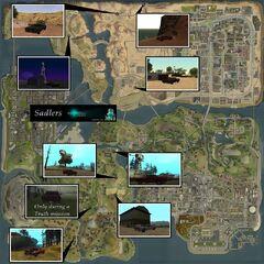 Ghost Sadler Map