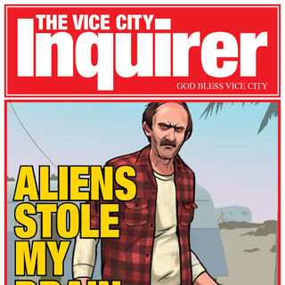 The cover of the Vice City Inquirer.