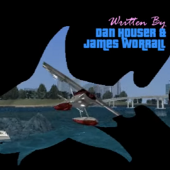 Shark in GTA Vice City's intro.