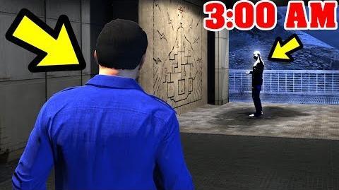 GTA 5 - The MOUNT CHILIAD Creature FOUND!! (3-00 AM)