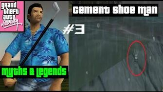 Cement Shoe Man - GTA Vice City Myths and Legends