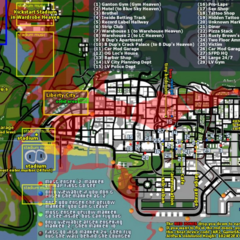 Los Santos Blue Hell map.
