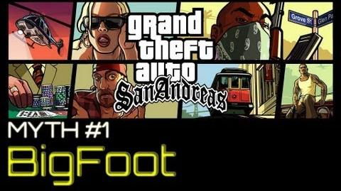 GTA San Andreas Myths & Legends - Bigfoot HD-0