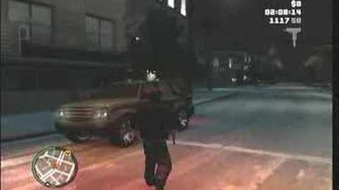 GTA 4 Ghost Car