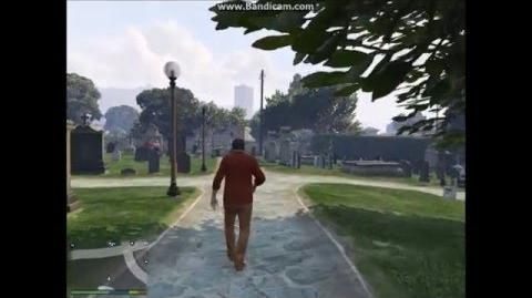 GTA V Vinewood Cemetery Ghosts - Case Two (HD)-0