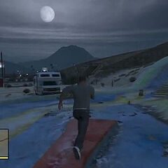 Full Moon in GTA V.