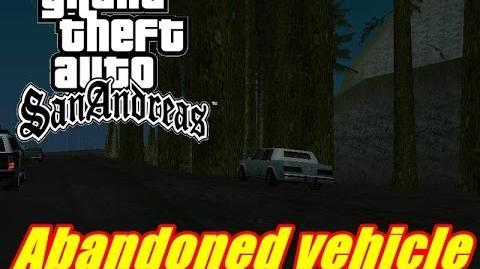 GTA SA Myths Abandoned vehicle