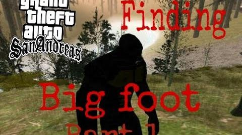 Gta San andreas easter eggs and myths-5 Finding Bigfoot part 1