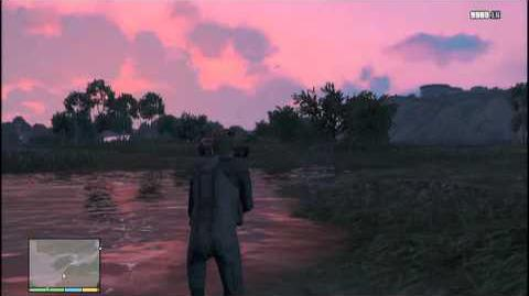 Gta v Myth Swamp Monster
