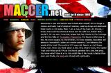 Maccer-Website
