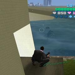 A shark in <i>GTA Vice City</i>.