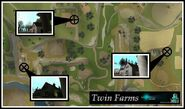 Map Twin Farms