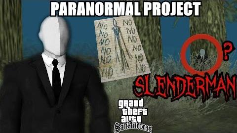GTA San Andreas Myths . Slenderman - PARANORMAL PROJECT 58