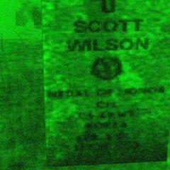 Scott Wilson's grave
