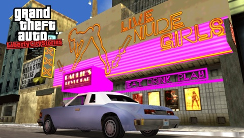 Liberty city strip club location