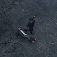 Pedestrian from <i>GTA V</i> dead.
