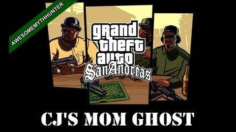 GTA San Andreas Myths & Legends - CJ's Mom Ghost HD-2