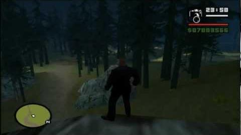 Grand Theft Auto San Andreas Myth Investigation Myth 1 Slender-Man REMAKE