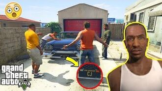 GTA 5 - I Found CJ's Car (secret GTA 5 easter egg)