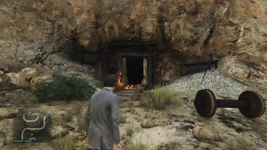 abandoned mine shaft gta myths wiki fandom powered by wikia