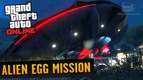 GTA Online Easter Egg - Secret Alien Egg Supply Mission (Legit Way)
