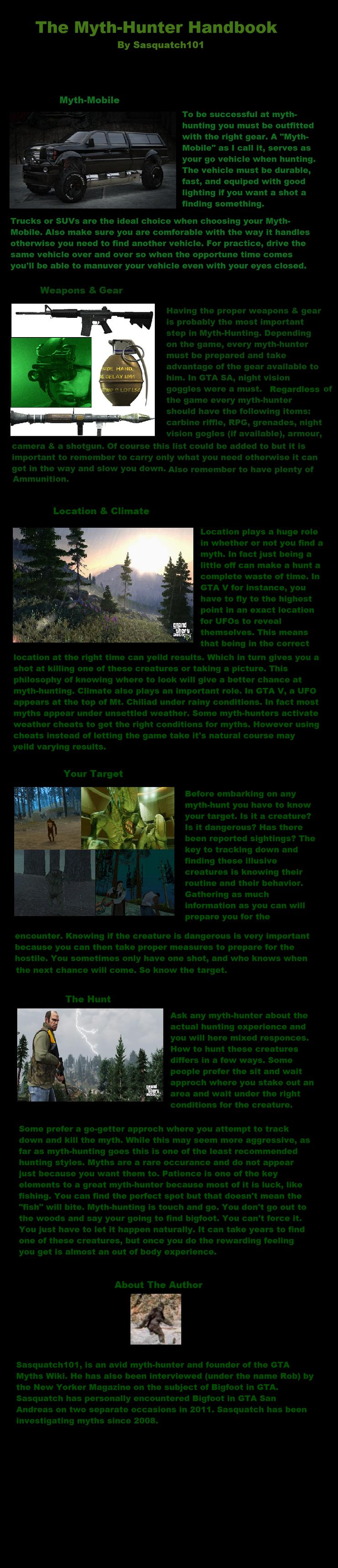 Mythhunter guide