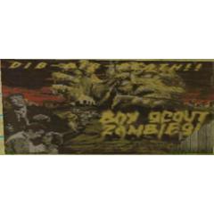 Zombie movie poster.