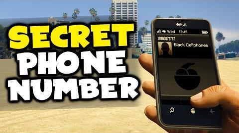 """GTA 5 SECRET PHONE NUMBER BOMB! - """"Black Cellphones"""" Easter Egg! (GTA 5 Easter Egg)"""