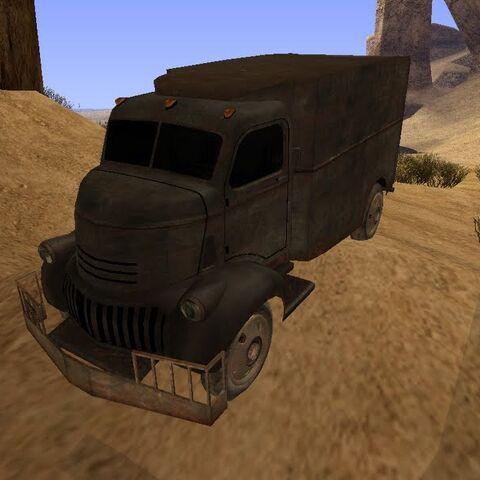 The unique truck it drives.