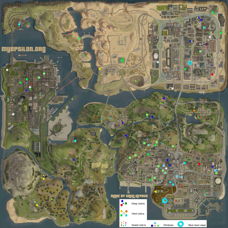 gta san andreas map size - People.davidjoel.co