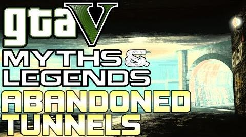 GTA 5 - Myths & Legends (60fps) - Abandoned Maintenance Tunnels