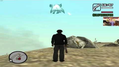 GTA SAN ANDREAS MYTH - MOUNT CHILIAD ANGEL