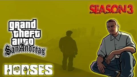 GTA San Andreas Myths & Legends - Horses In Las Barrancas