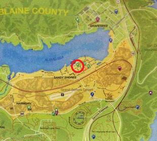 gta 5 blaine county map