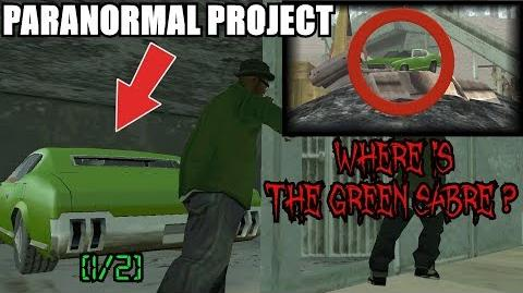 WHERE IS THE GREEN SABRE? 1 2 GTA San Andreas Myths - PARANORMAL PROJECT 68
