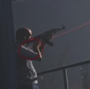 GTA V 'Laser Sight'