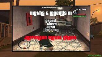 Myths & Legends in GTA San Andreas - Jefferson Motel Ghost